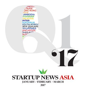 Q1 2017 Startup News for Asia