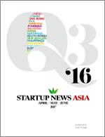 Startup News Asia Q3 2016