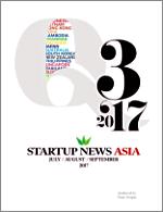 Startup News Asia, Third quarter 2017