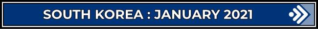 South Korea: January 2021