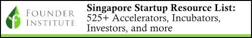 Singapore startup resources: Founder Institute